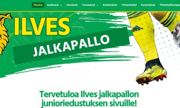 Tervetuloa Ilves junioriedustuksen uusille kotisivuille!